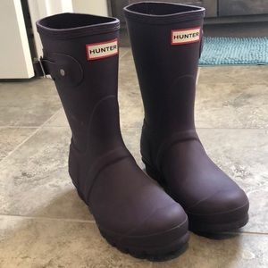 Women's Original Hunter Short Boots, Size 6